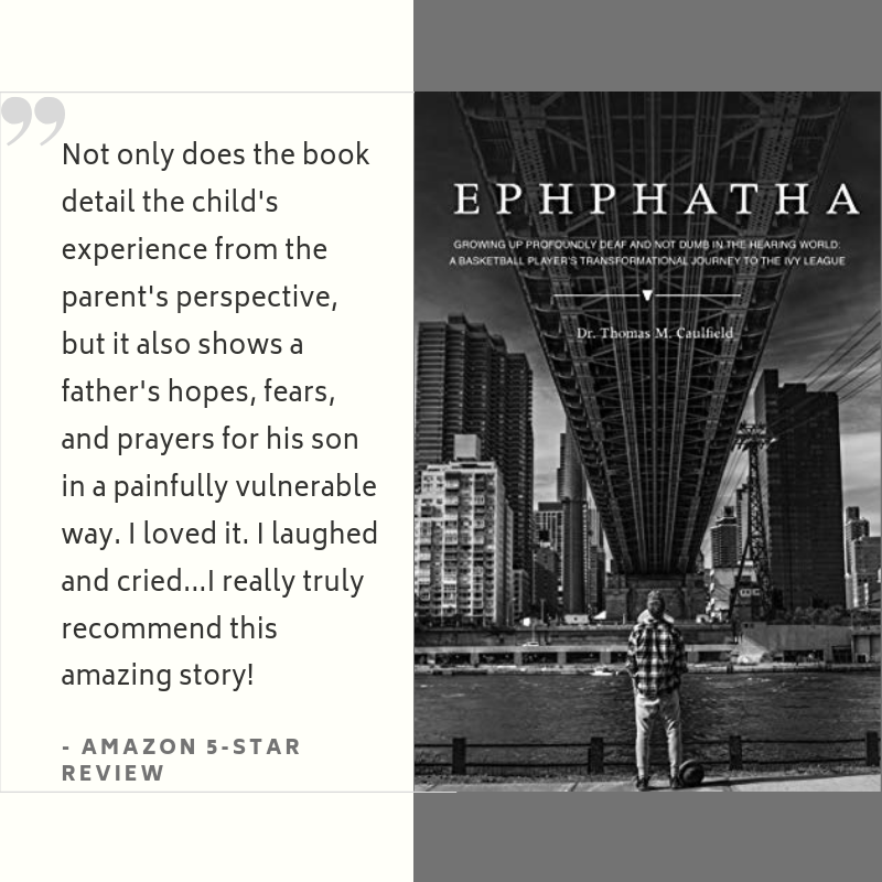 """Not only does the book detail the child's experience from the parent's perspective, but it also shows a fathers' hopes, fears and prayers for his son in a painfully vulnerable way. I loved it. I laughed and cried...I really truly recommend this amazing story!"" - Amazon 5-Star Review"